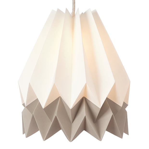 Belia Pendant Lamp ivory & natural & natural white, 100% paper | High quality homewares