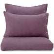 Bellvis Pillowcase Linen aubergine, 100% linen