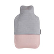 Cadima christmas set, light grey melange & light pink, 100% merino wool | URBANARA loungewear