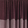 Calcada curtain bordeaux red & white, 60% cotton & 40% acrylic | High quality homewares