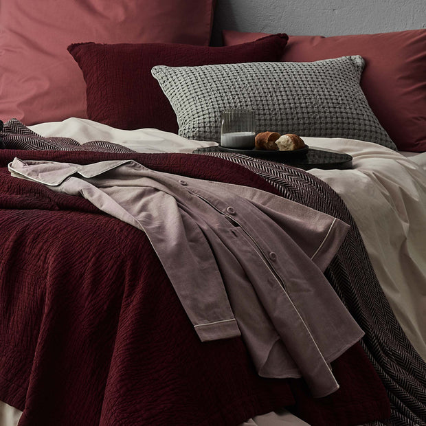 Arove Nightshirt in light mauve & natural white | Home & Living inspiration | URBANARA
