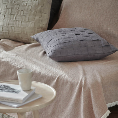 Akole Cushion in dark grey | Home & Living inspiration | URBANARA