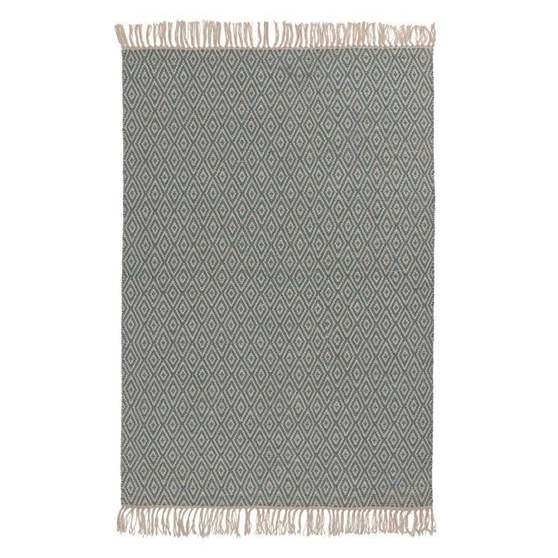 Dasheri Rug in green grey & off-white | Home & Living inspiration | URBANARA