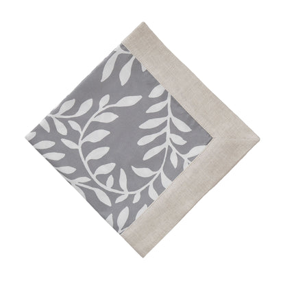 Eixo Napkin Set in grey & white & natural | Home & Living inspiration | URBANARA
