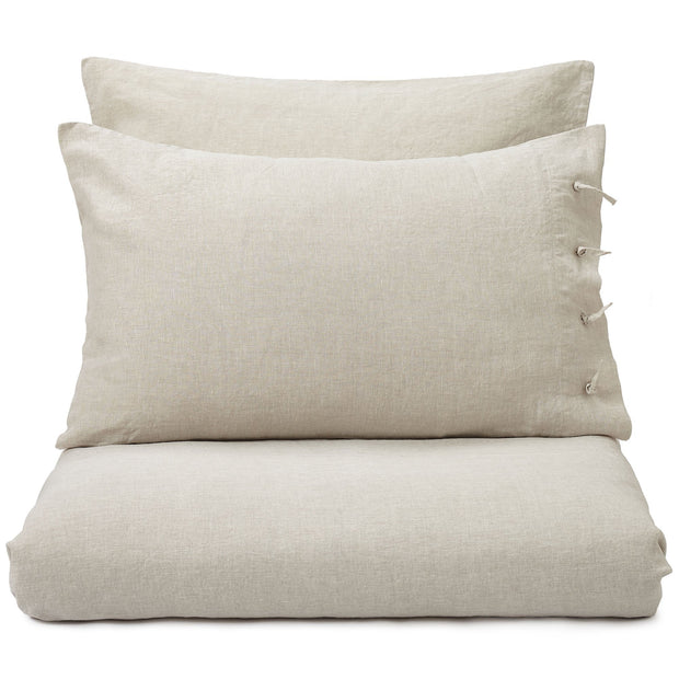 Figuera duvet cover, natural, 100% linen