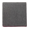 Foligno Cashmere Blanket [Black/Cream/Raspberry rose]