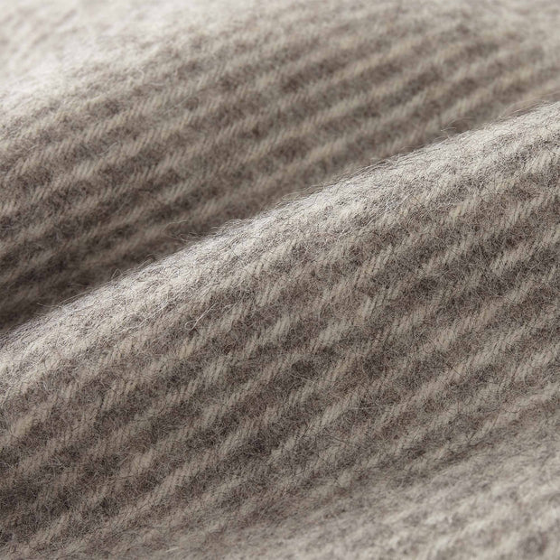 Gotland Wool Blanket grey & cream, 100% new wool | Find the perfect wool blankets