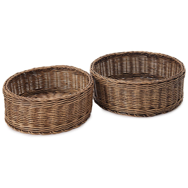 Java storage, dark brown, 100% rattan