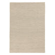 Kalu rug, ivory, 48% wool & 52% cotton | URBANARA wool rugs