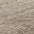Kesar rug, cream & grey & sand, 60% wool & 15% jute & 25% cotton | URBANARA wool rugs