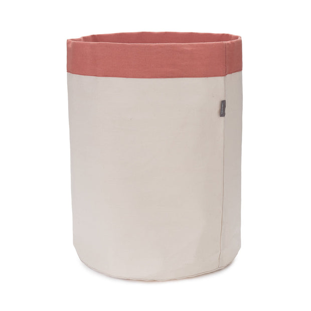 Khuwa Storage off-white & papaya, 100% cotton