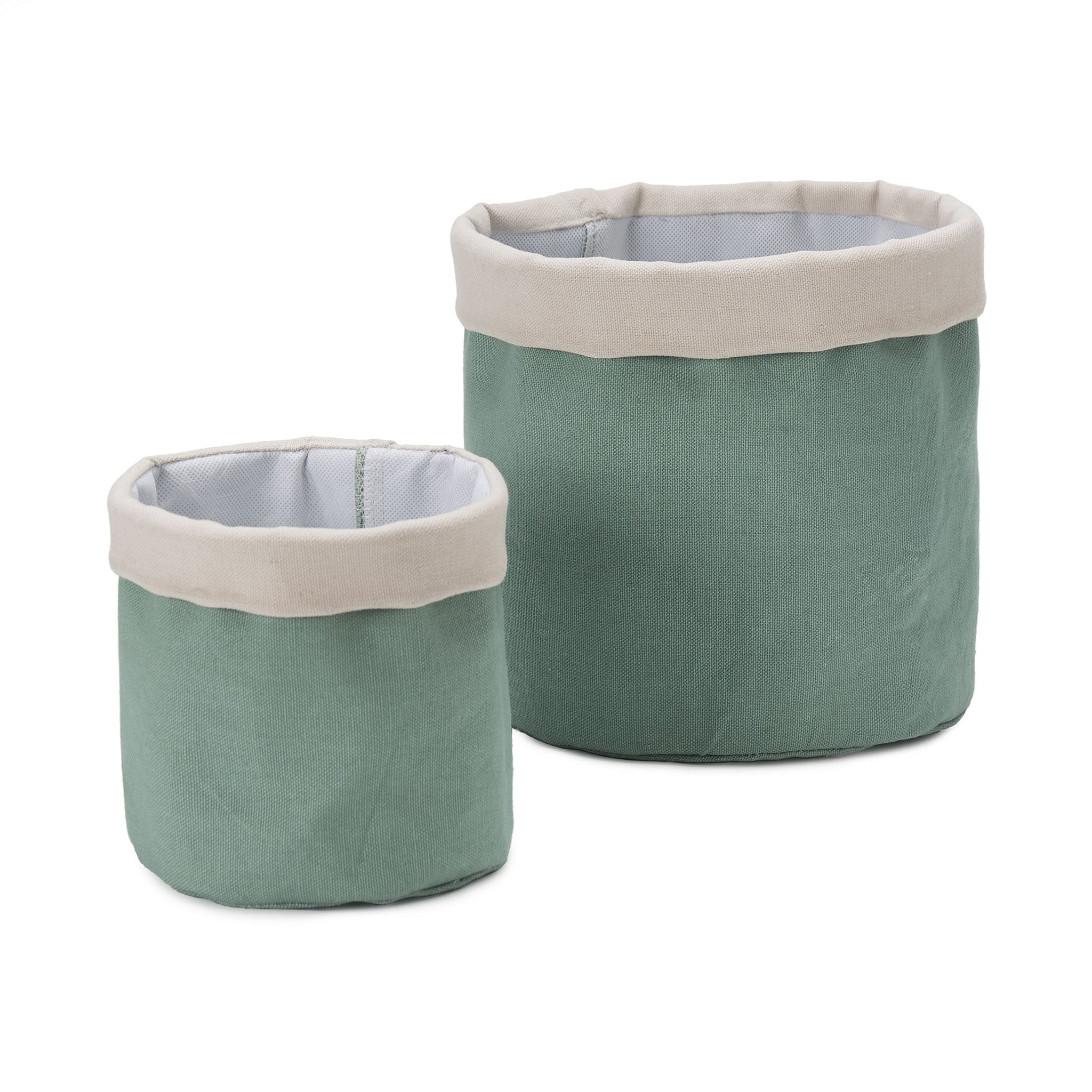 Khuwa Storage in green grey & off-white | Home & Living inspiration | URBANARA