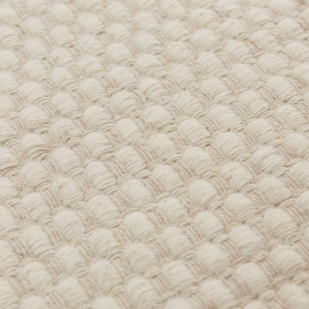 Kolong Rug off-white, 100% new wool | High quality homewares