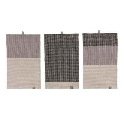 Kotra Towel Collection in grey & natural & black | Home & Living inspiration | URBANARA