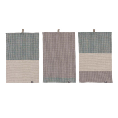 Kotra Towel Collection in green grey & natural & grey | Home & Living inspiration | URBANARA