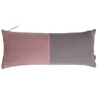 Belur cushion, blush pink & grey & natural, 100% cotton & 100% linen