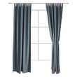 Largo Curtain grey green, 100% cotton | High quality homewares
