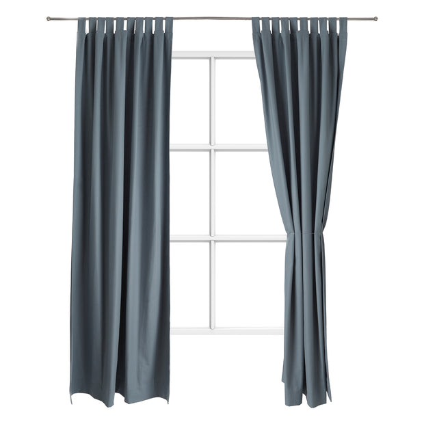 Largo Curtain [Grey green]
