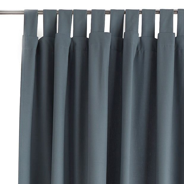 Largo Curtain grey green, 100% cotton
