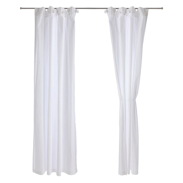 Maninho curtain, white, 100% cotton |High quality homewares
