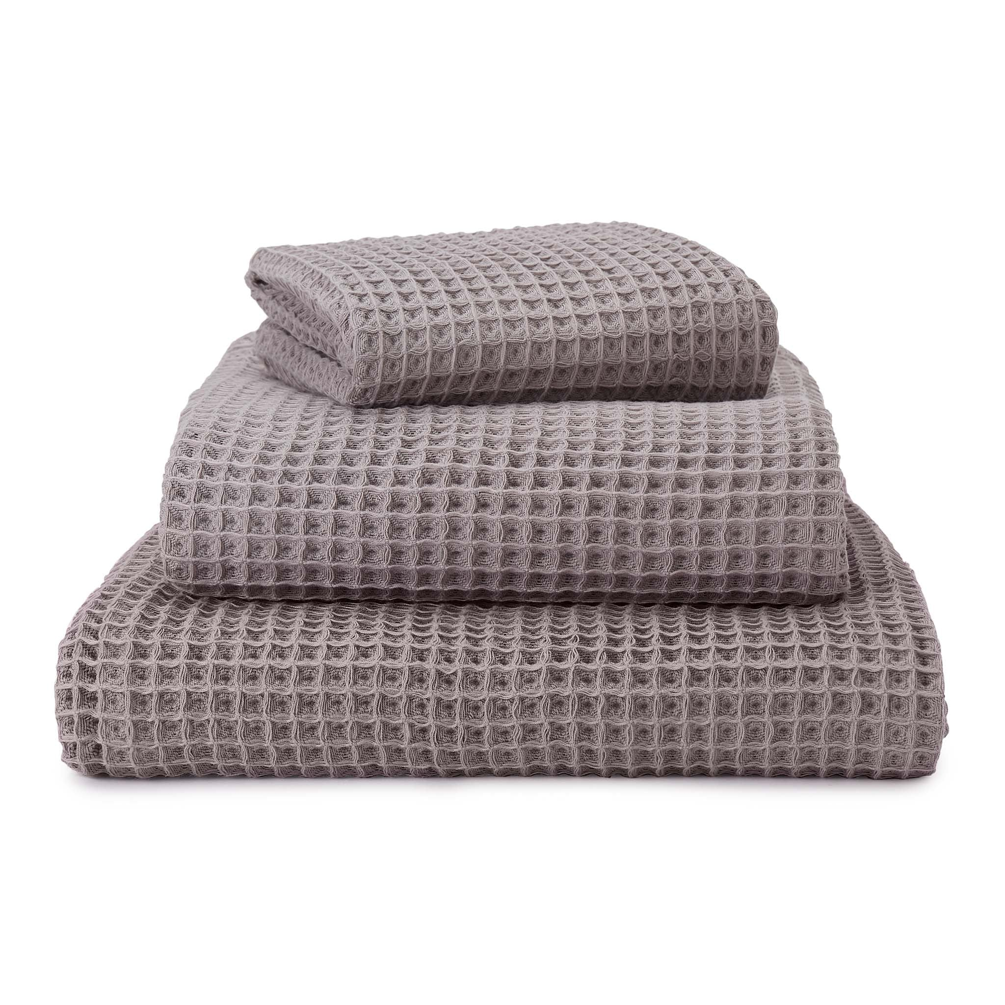 Mikawa Towel Collection [Light grey]