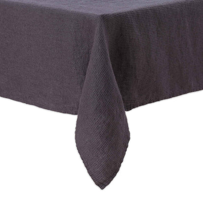 Minija table cloth, dark grey, 100% linen