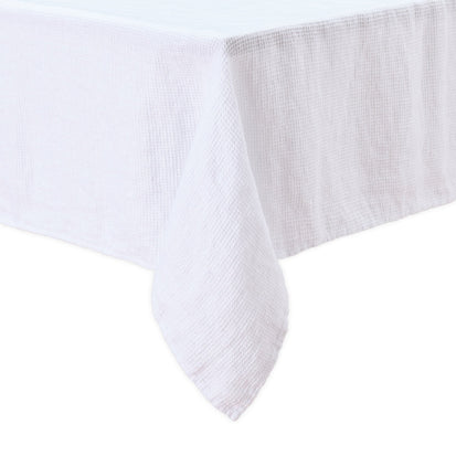 Minija table cloth, white, 100% linen