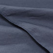 Moledo Percale Bed Linen dark grey blue, 100% organic cotton | High quality homewares