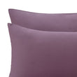 Montrose Flannel Pillowcase aubergine, 100% cotton | URBANARA flannel bedding