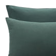 Montrose Flannel Pillowcase in dark green | Home & Living inspiration | URBANARA