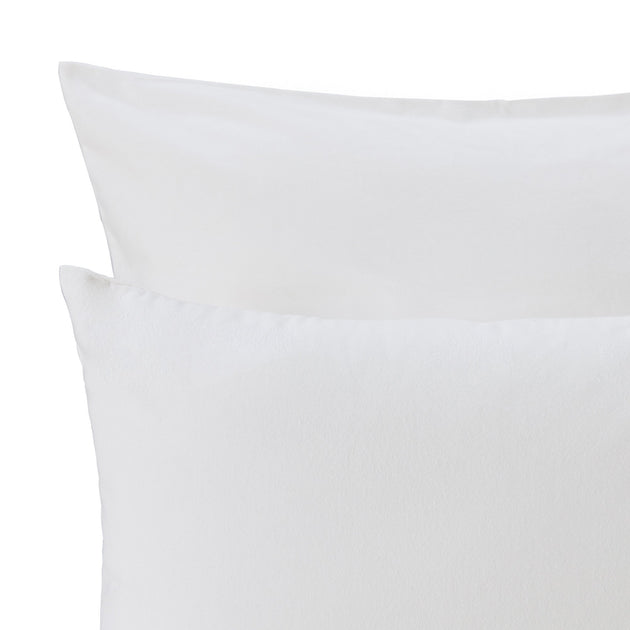 Montrose Flannel Pillowcase in cream | Home & Living inspiration | URBANARA