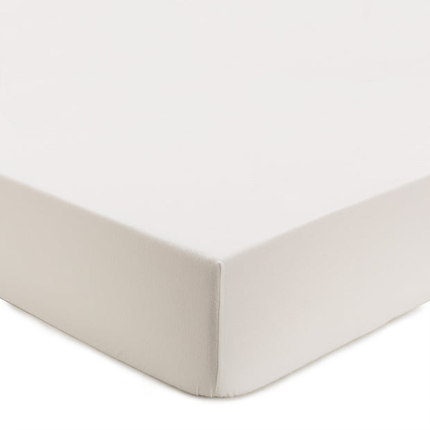 Montrose Flannel Fitted Sheet cream, 100% cotton