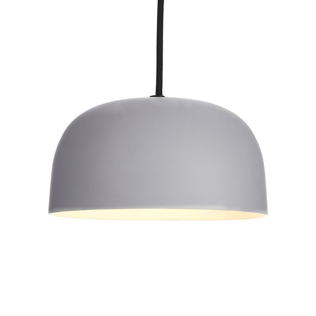 Murguma Pendant Lamp light grey, 100% metal | URBANARA pendant lamps