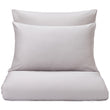 Oufeiro duvet cover, light grey, 100% organic cotton
