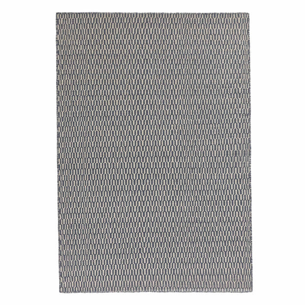 Overod Rug in grey blue & off-white | Home & Living inspiration | URBANARA