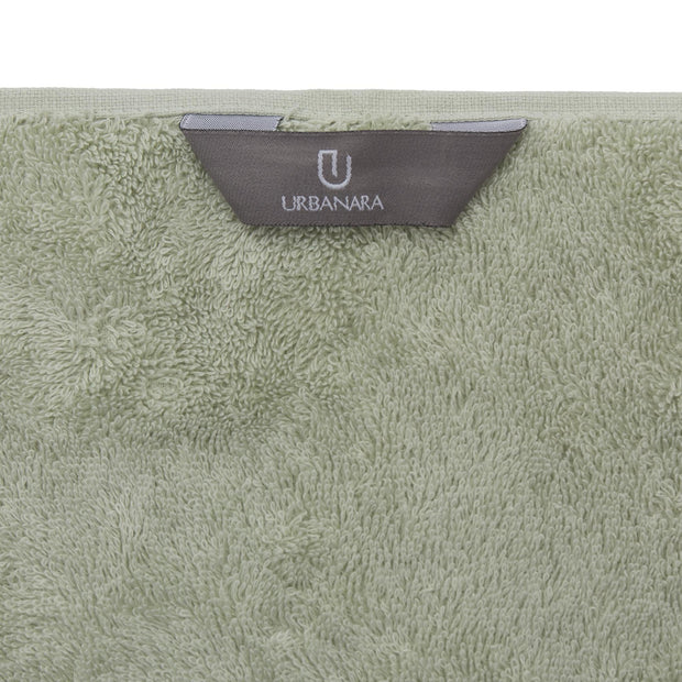 Penela Towel Collection mint, 100% egyptian cotton | URBANARA cotton towels
