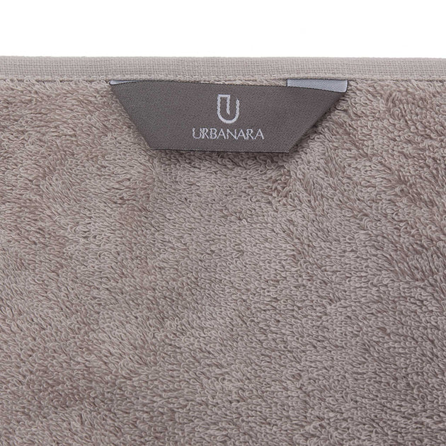 Penela Towel Collection in stone grey | Home & Living inspiration | URBANARA