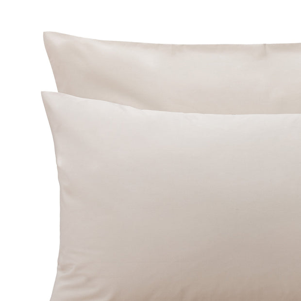 Perpignan Pillowcase natural, 100% combed cotton | URBANARA percale bedding