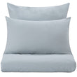 Perpignan Pillowcase green grey, 100% combed cotton