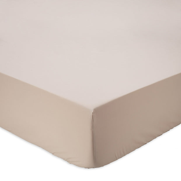 Perpignan fitted sheet, natural, 100% combed cotton