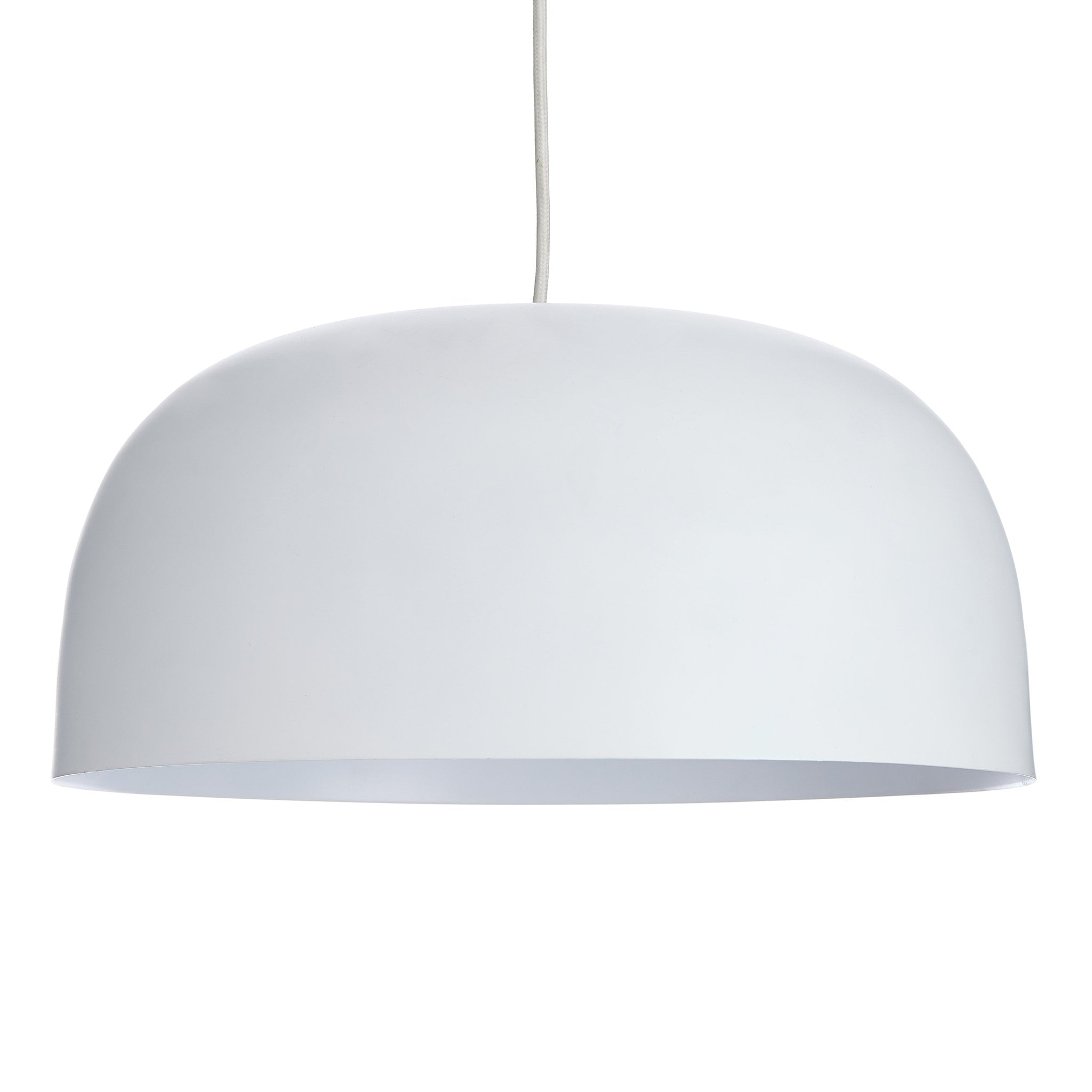 Sadum Pendant Lamp white, 100% metal