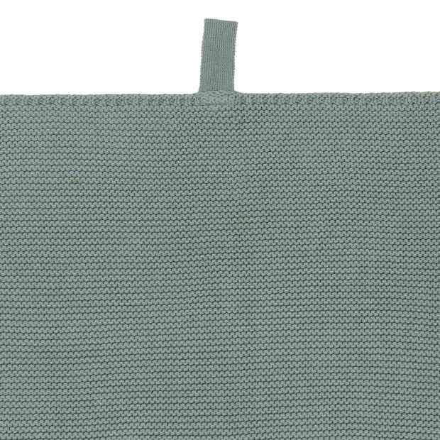 Safara Tea Towel Set green grey, 100% cotton | URBANARA dishcloths