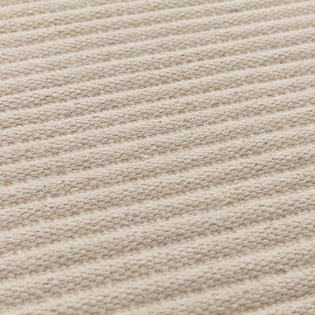 Salasar runner in natural white, 100% cotton |Find the perfect runners