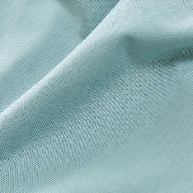 Samares Bed Linen green grey, 100% cotton | URBANARA jersey bedding