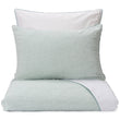 Sameiro Linen Bed Linen green grey & white, 100% linen & 100% organic cotton