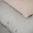 Bellvis Pillowcase white, 100% linen | High quality homewares
