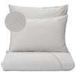 Sousa Bed Linen light grey & white, 100% cotton
