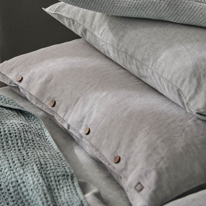 Tolosa Linen Bed Linen in green | Home & Living inspiration | URBANARA