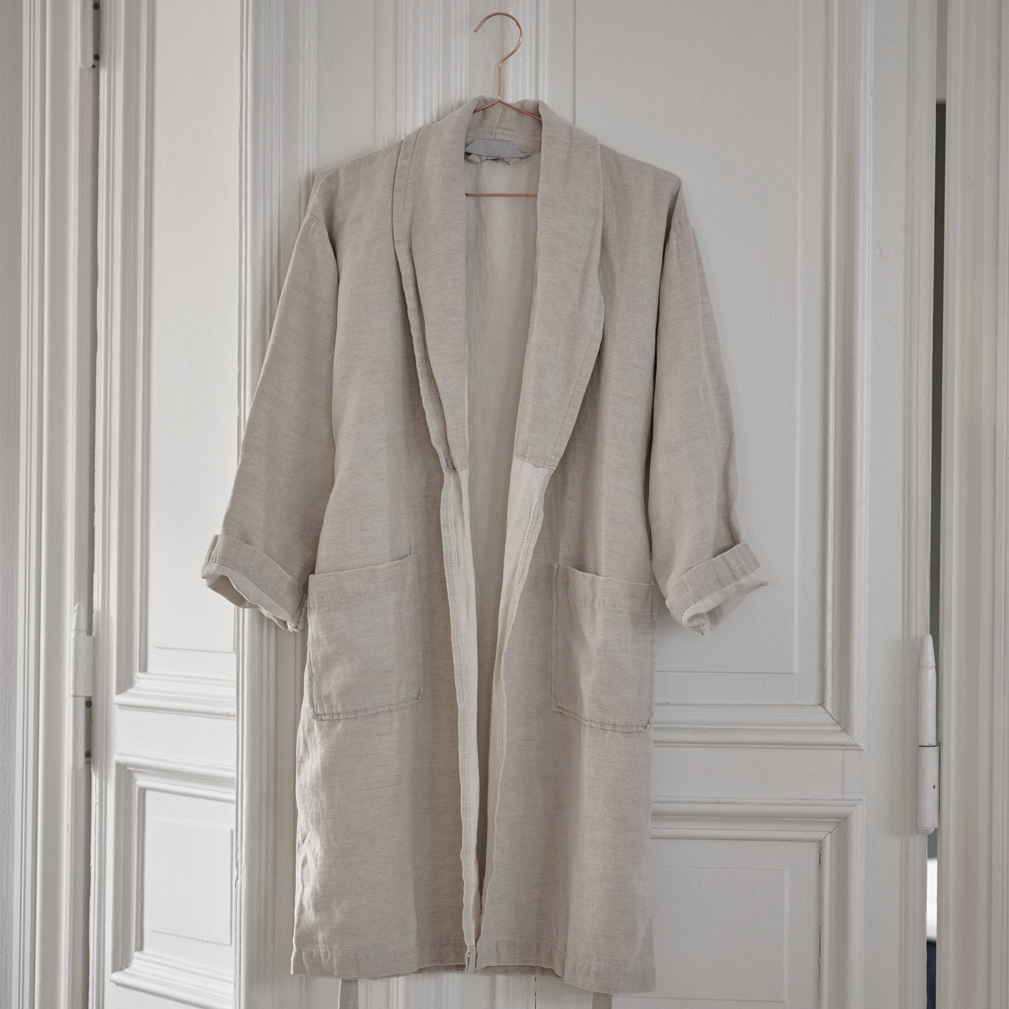 Antero Bathrobe in natural | Home & Living inspiration | URBANARA