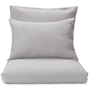 Tolosa Linen Bed Linen light grey, 50% linen & 50% cotton